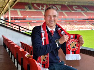 WALSALL COPYRIGHT EXPRESS AND STAR STEVE LEATH 01/06/2021..Pic at Walsall FC, New Manager/ Head Coach: Matt Taylor..