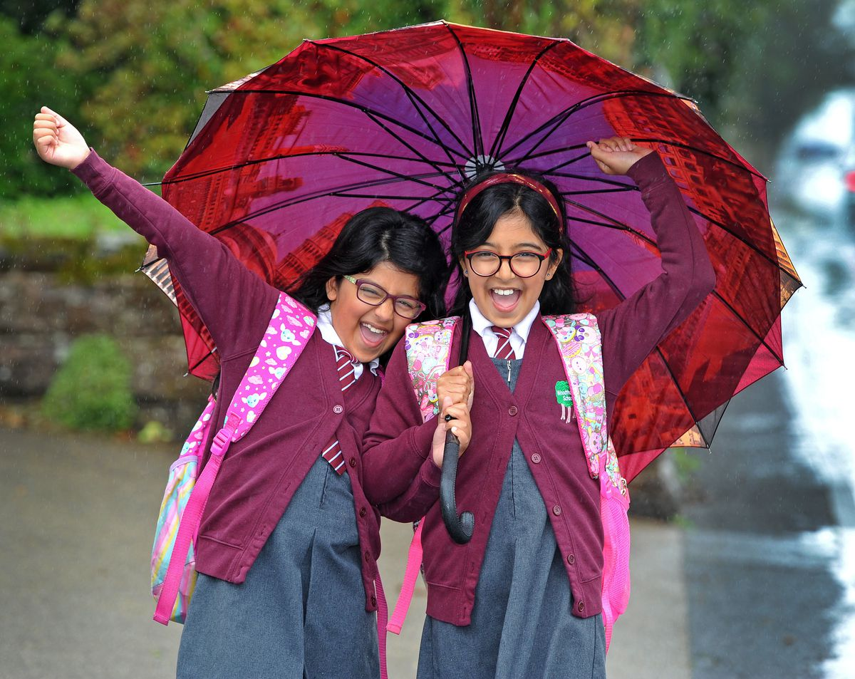 Aditi Mandal, aged 10, and sister Anisha, nine, are ready to return to school lessons after lockdown – and they couldn't be happier to be back into a routine