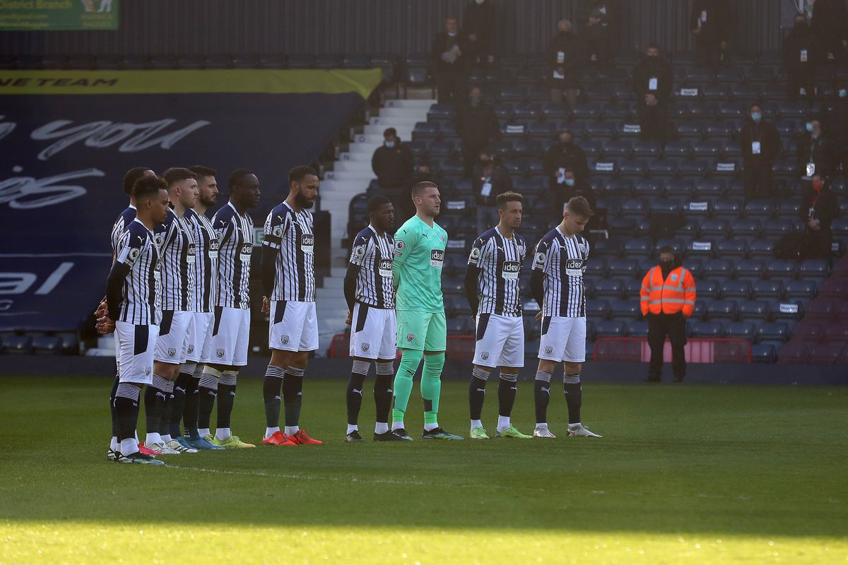 Two minute silence in tribute to HRH Prince Philip The Duke of Edinburgh before the start of the match. (AMA)