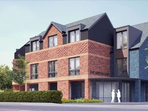 Artist impression of the proposed care home in place of the Greyhound Pub in Norton Road. Photo: Gillings Planning.