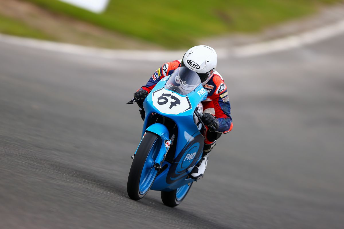 Josh Hiatt returned from injury to compete in the British Talent Cup. Picture: Rob Baxter