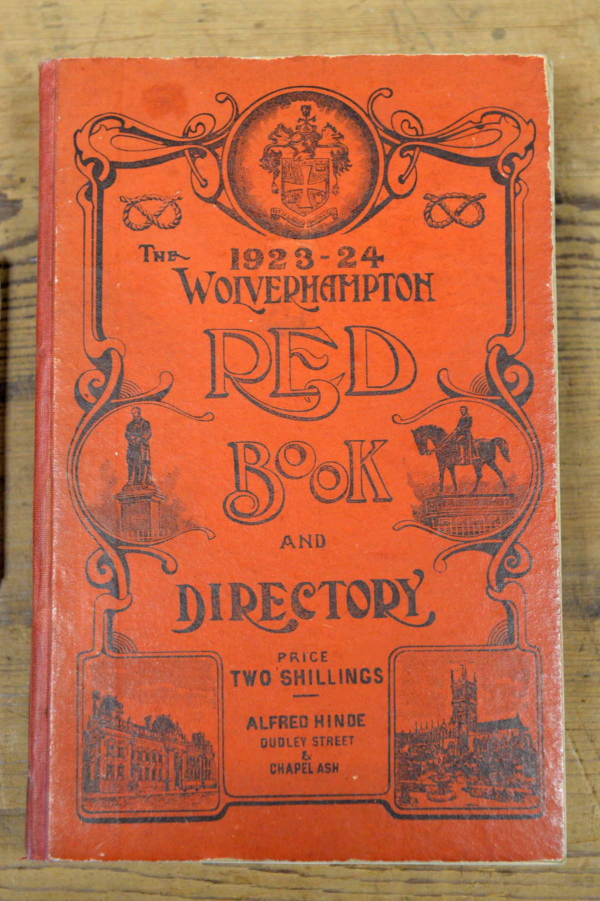 A directory from 1923