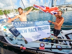 Army veteran who lost a leg in Afghanistan makes rowing history with military mate