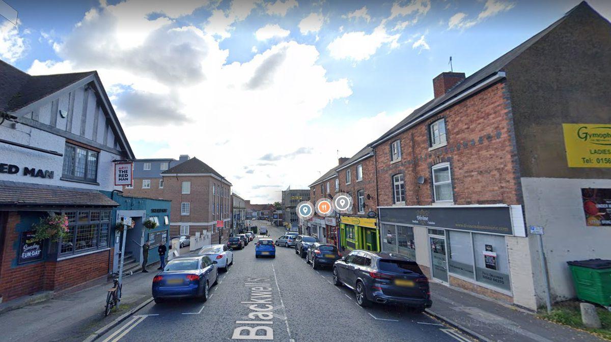 Blackwell Street, Kidderminster Photo: Google