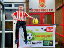 Seven-year-old Stourbridge FC fan to visit 22 football grounds for charity