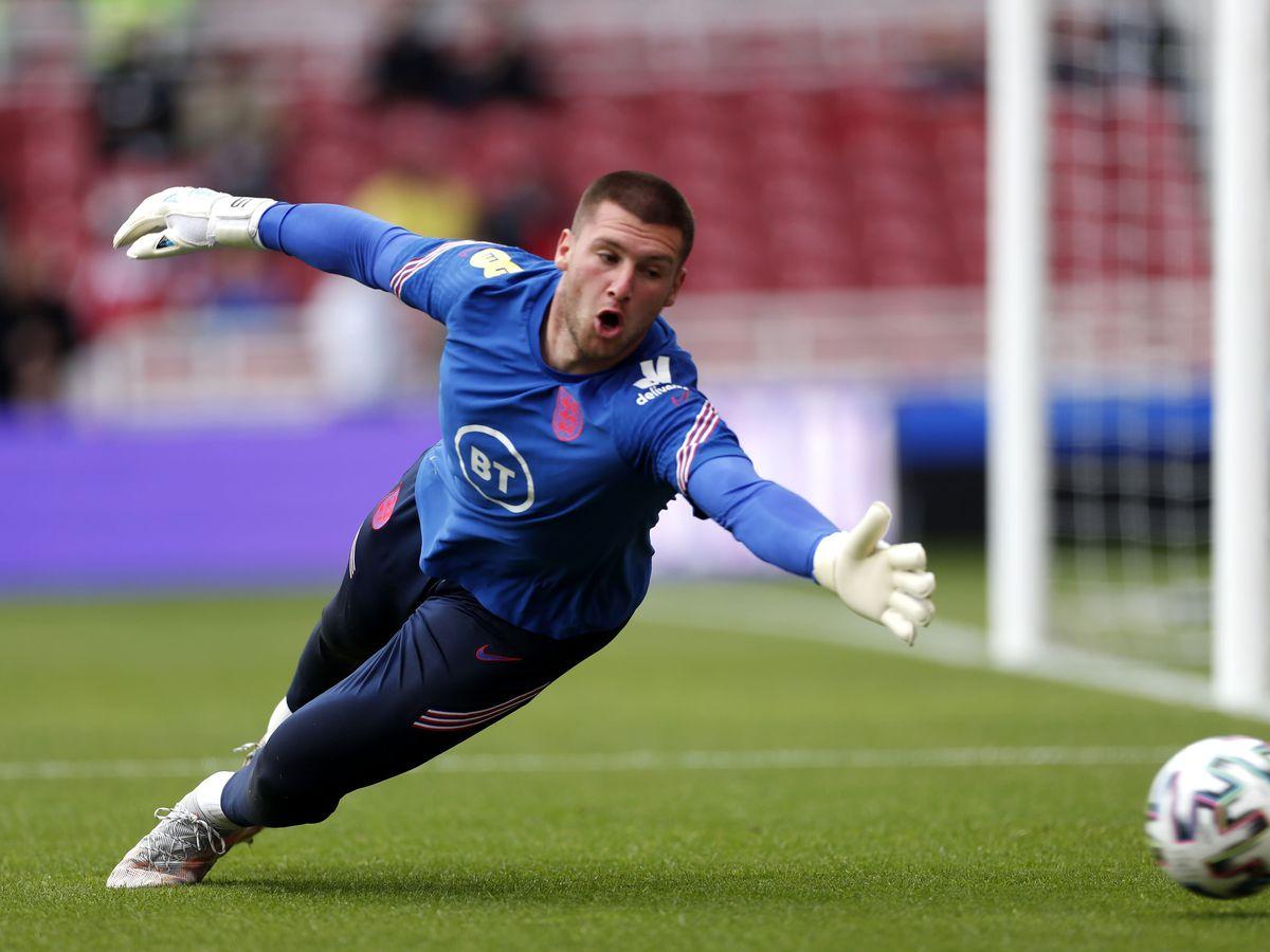 Sam Johnstone impressed for England on Sunday