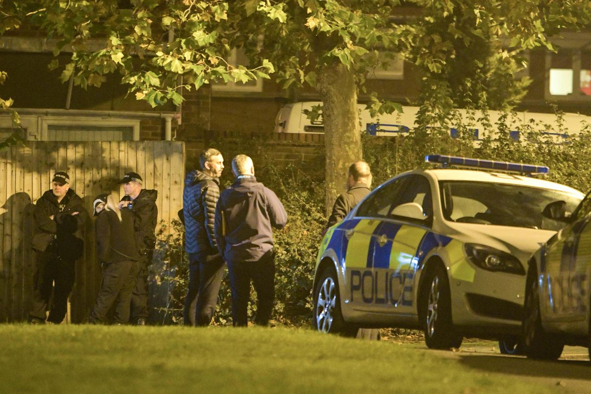 Police were investigating last night. Picture: @SnapperSK