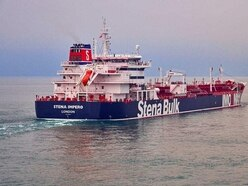 Government 'deeply concerned' by seizure of oil tanker in Persian Gulf