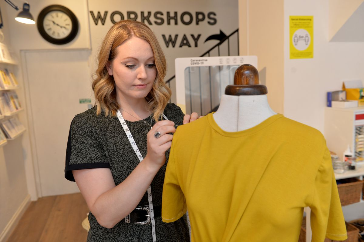 Holly gained an honours degree in fashion with design for performance from Birmingham City University
