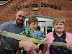 Doreen opens new wing at Tipton care home