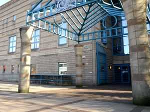 WOLVERHAMPTON  ALAN FOGARASY COPYRIGHT EXPRESS & STAR 15/02/18.GV Wolverhampton Crown Court .   Stock picture Wolverhampton Crown Court..