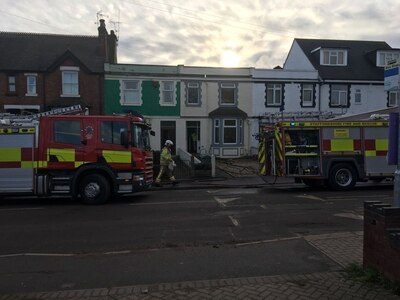 Dog rescued from Stafford house fire