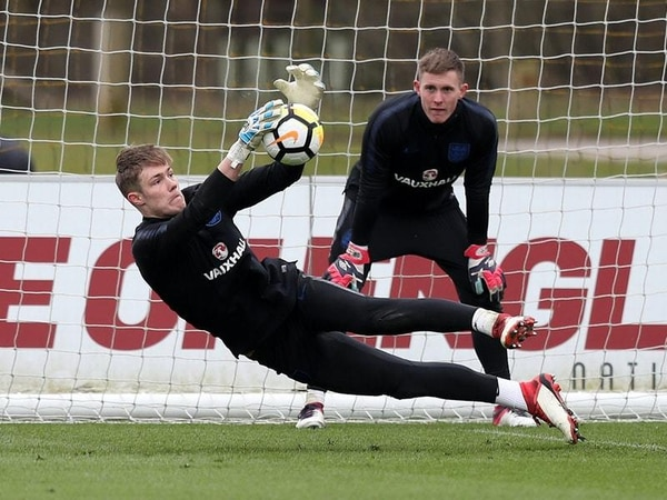 This very fun but competitive training session will make you want to be an England U21 goalkeeper