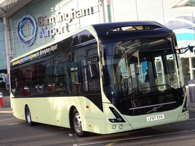 Airport announces electric bus contract