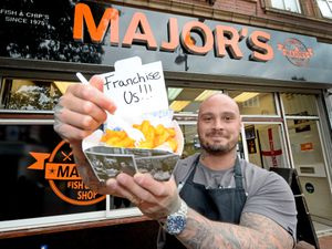 Royston Spencer is looking for franchisees to help expand Major's Fish & Chips shop