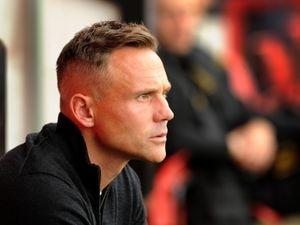Walsall manager Matt Taylor.