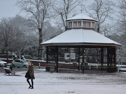 Snow falls across the Black Country and Staffordshire as weather warning remains