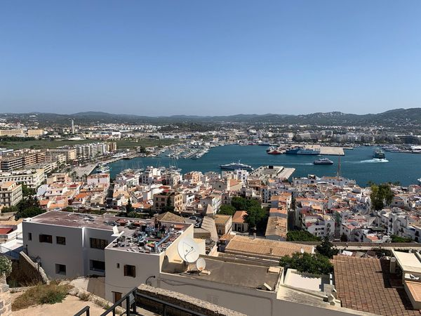 General view of Ibiza Town