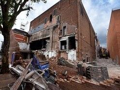 Huge machinery arrives to demolish Wolverhampton's Faces nightclub