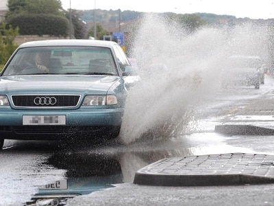 Drivers warned about possible £5,000 fine for splashing pedestrians