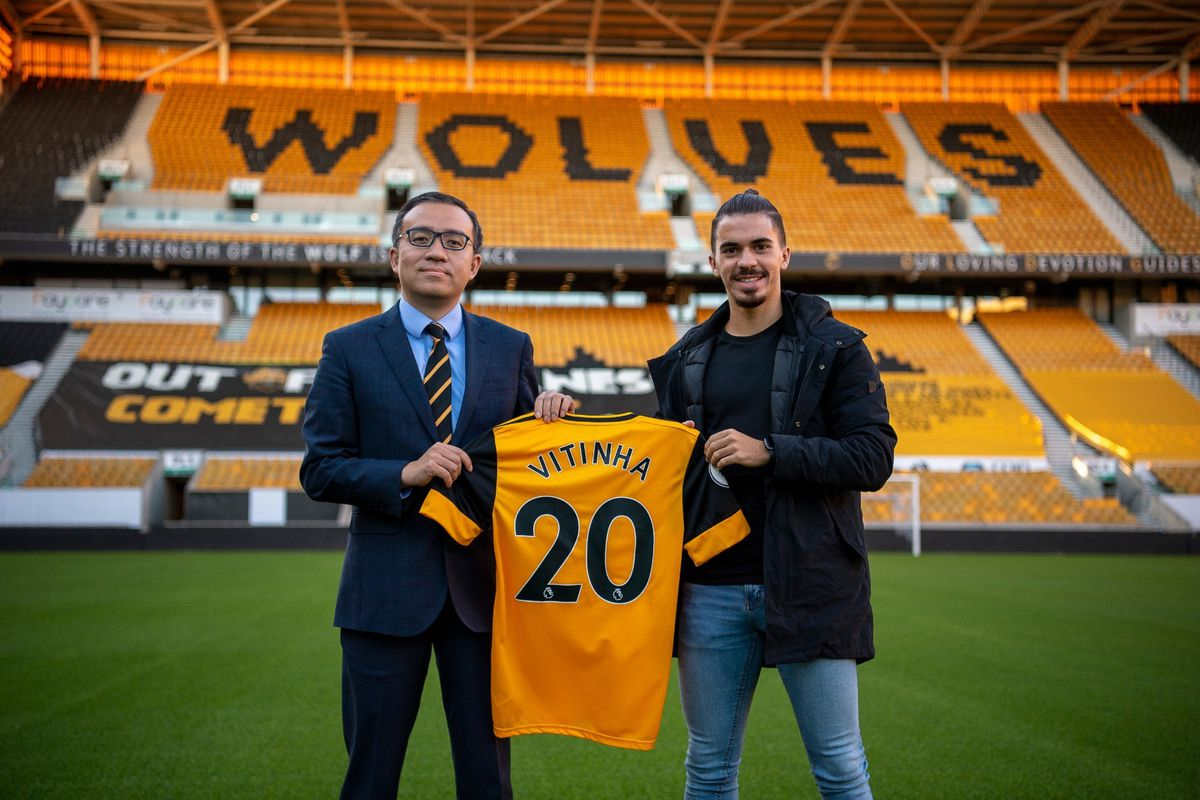 Vitinha joins Wolves (Photo: Wolves)