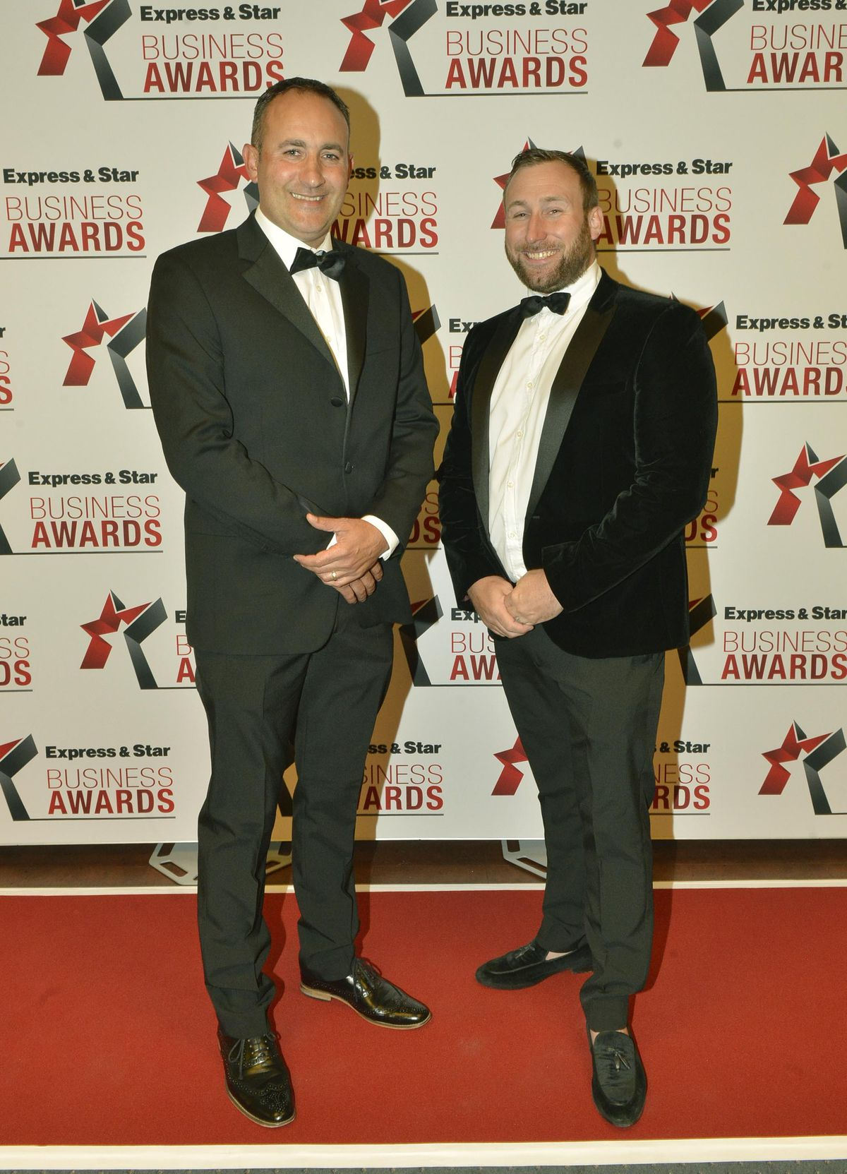 Craig Hart and Jason Ginnall from Homeserve Furniture
