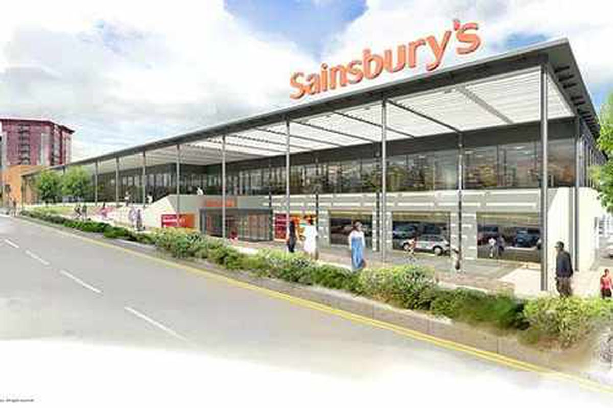 Sainsbury's reveal vision for new Wolverhampton store