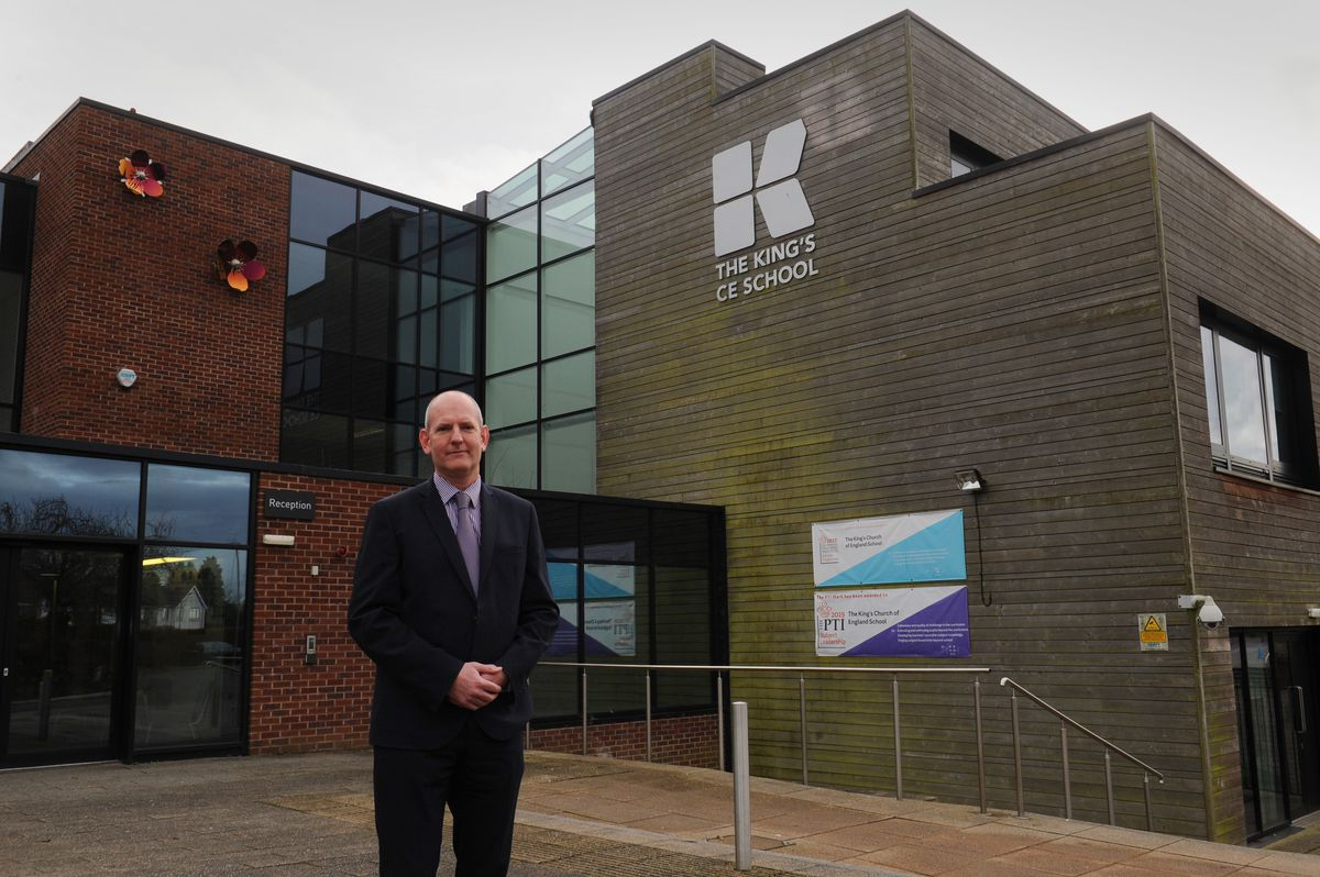 James Ludlow, principal at the King's CE School, Tettenhall, Wolverhampton, said he was pleased pupils were returning, and said the school would do everything it could to ensure safety measures were followed
