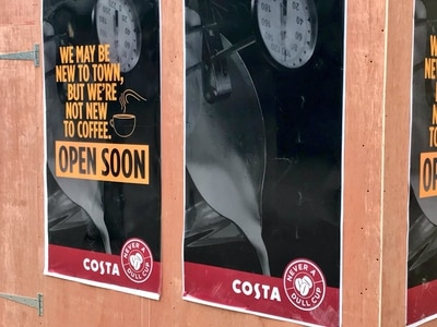 Fancy a coffee? You'll be spoilt for choice with fourth Costa outlet heading to city