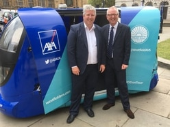 MP welcomes Westfield Pod to Westminster