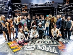 Young performers meet musical theatre stars