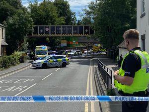 Bridgnorth Road has been cordoned off in Compton, Wolverhampton