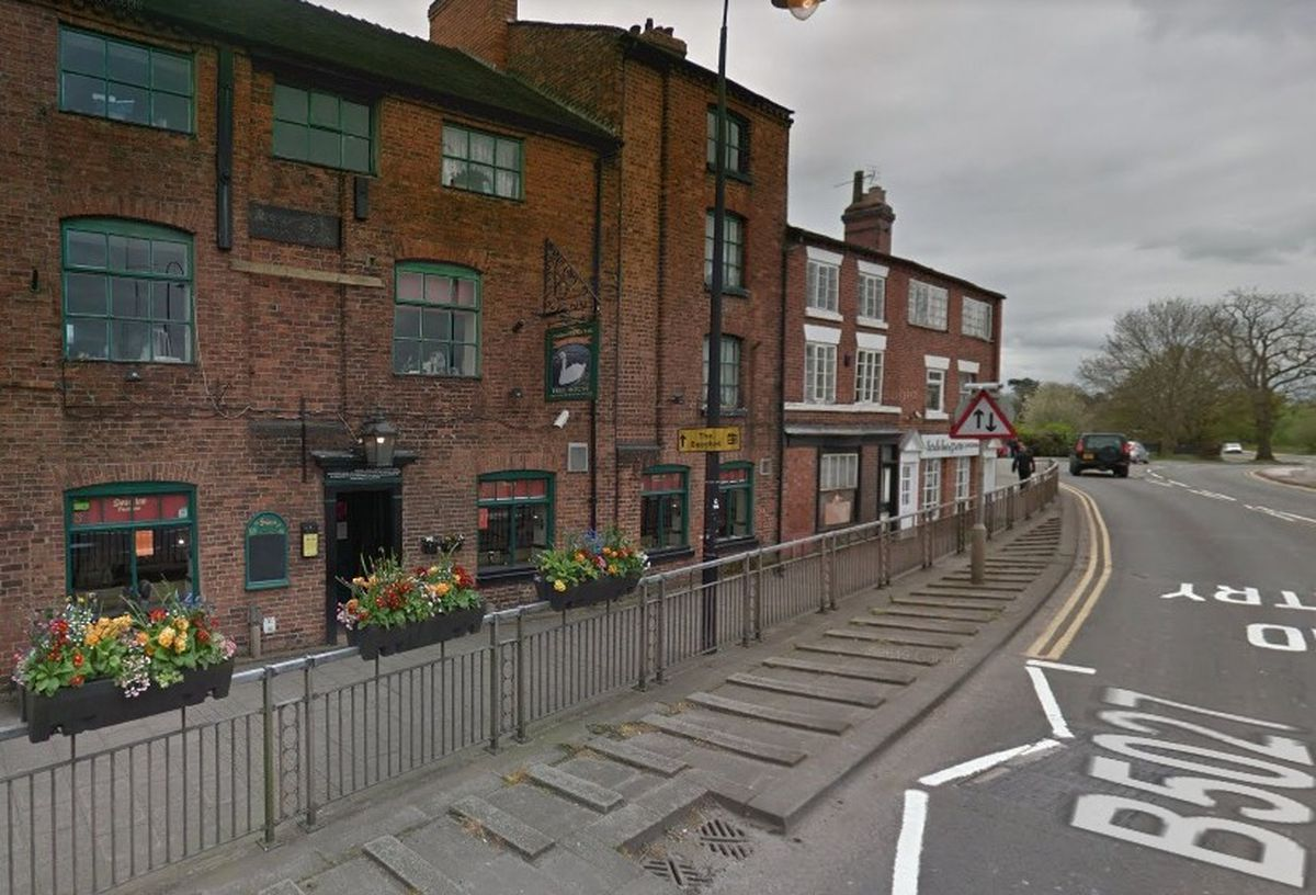 A Google Street View Image Of The Swan Inn In Stafford Street Stone