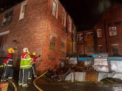 Five fire crews battle Wolverhampton Eye Infirmary blaze
