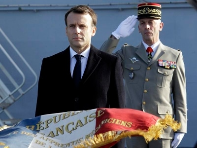 French president seeks more European military links amid defence pledge