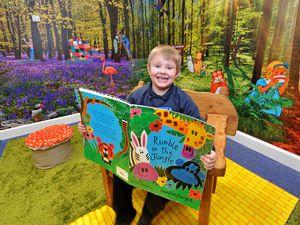 Jenson Debenham, aged six