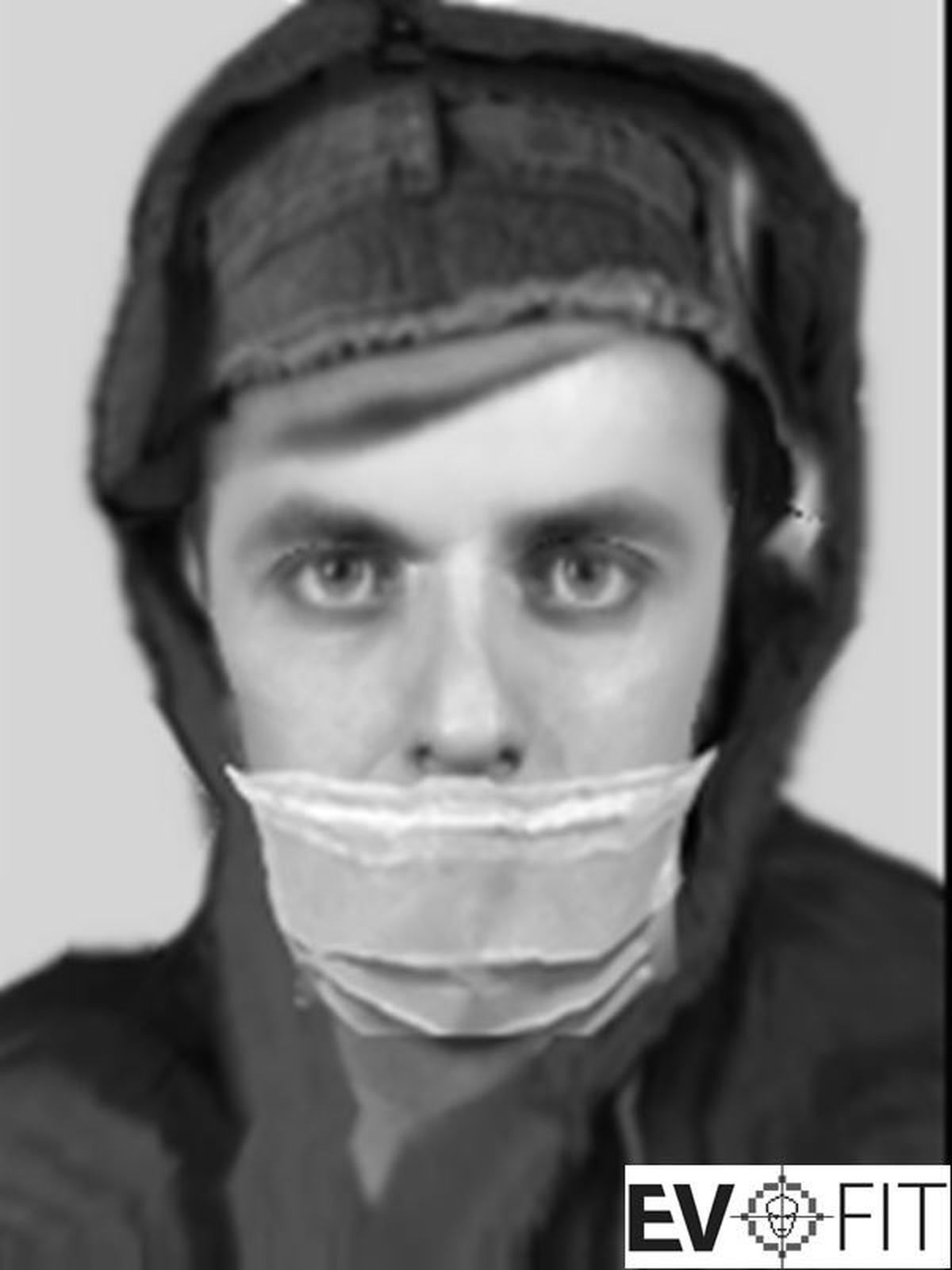 E-fit of suspect in Great Wyrley sexual assault investigation