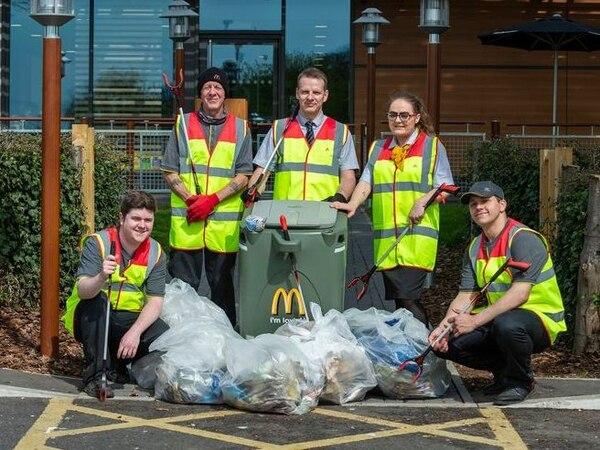 McDonald's reveals Wolverhampton area its restaurant volunteers will be cleaning up