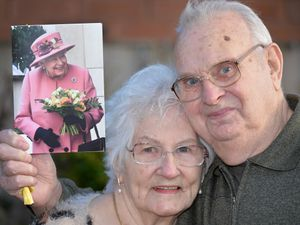 Norman and Joyce Caron from Cannock have recently celebrated 65 years of marriage and were sent a card of congratulations by the Queen