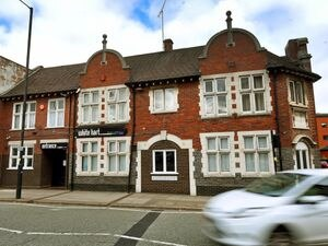 The former White Hart pub in Worcester Street, Wolverhampton