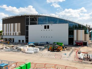 The Sandwell Aquatics Centre in June this year. Picture by Shaun Fellows / Shine Pix Ltd