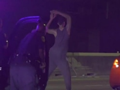 Car chase suspect stuns Texas police officers by dancing before his arrest