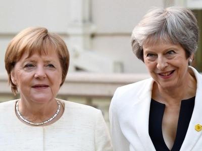 Theresa May to meet Angela Merkel for crisis Brexit talks