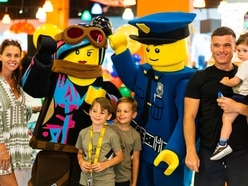 Danielle Lloyd enjoys quality family time with day out at Legoland Discovery Centre Birmingham