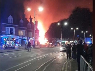 Police declare 'major incident' after explosion in Leicester