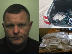 Taxi driver caught with £4 million of heroin on the M6 near Stafford