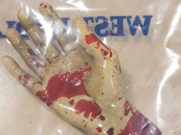 Police find 'bloody hand' floating in canal in Wolverhampton