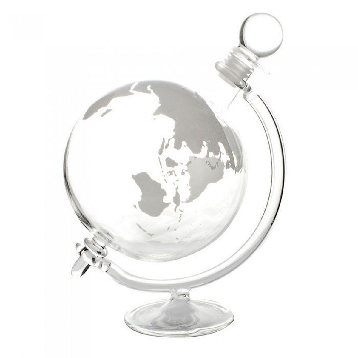 Globe Decanter with Cradle