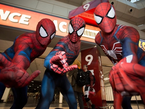 Comic Con: Film fans get into character at Birmingham NEC show
