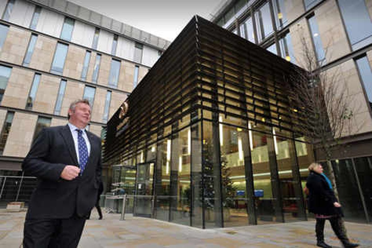 Wraps off £38m Staffordshire County Council HQ